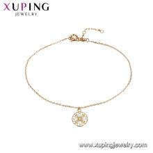 75263 Xupiing новая мода круглый дизайн 18k позолоченный женщины браслет