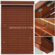 Cortinas de janela de madeira falsificada de 50mm