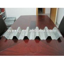 corrugado galvanizado acero piso decking hoja