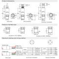 FST800-213 High Pressure Type Hydraulic Strain Gauge Pressure Sensor