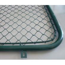 China Kettenglied-Maschendraht-Fechten, PVC beschichtete Kettengliedzäune, Plastikkette