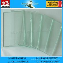 1,5-3mm Blattglas für Bildrahmen mit AS / NZS2208: 1996
