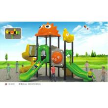 EN1176 genehmigt B10203 Cartoon Outdoor Kunststoff Spielplatz