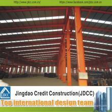 Hohe Qualität Große Stahlkonstruktion Vorgefertigte Werkstatt