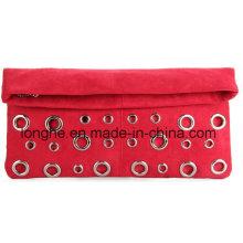 Art und Weise dekorative Ösen gefaltete Dame Handbag (ly0124)