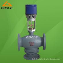Válvula de control de mezcla eléctrico de tres vías (3 vías) (GAZDLX)