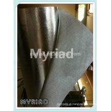 Folha de alumínio pano de vidro, laminação de alumínio folha de fibra de vidro