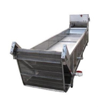 stainless steel sink for plastic granualtion production line