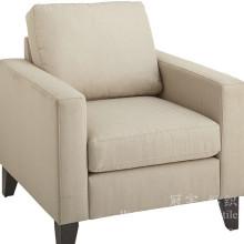 Estofamento de linho Look 100% poliéster tecido para sofá