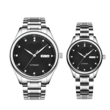 Alloy Case Japan Quartz Movement Couple Gift Watches