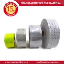 Micro prismática cinta reflectante de PVC