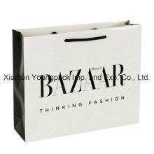 Luxury Gloss Laminate Rope Handle Paper Gift Packaging Bag