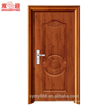 Shuangying brand cheap price entrance room door design steel security door stainless steel door