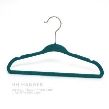 Cintre en plastique de Chine Chlidren Kids économiser espace velours Hanger