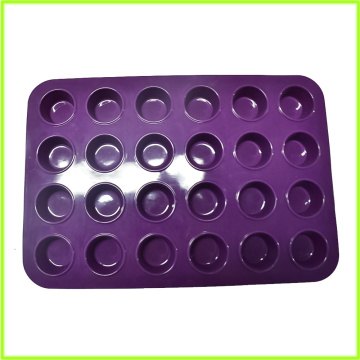 Muffin in silicone Premium Pure Food Grade 24
