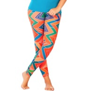 Workout Capri Pants, Youth Printed Athletic Pride Touchdown Capri Pants (CRP-013)