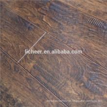 Indoor Laminate flooring EIR superfície fabricantes china indoor imitated piso de madeira / clique fácil laminado piso