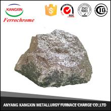 China Fornecedor de alto teor de carbono de ferro cromo dourado para fabricação de aço
