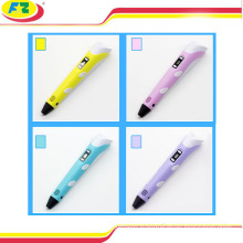 2016 Facotry Wholesale 3D drawing pen for Children as gift 3d Printer Pen