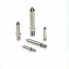 Aluminium luaran CNC Machined Threaded Dowel Pin