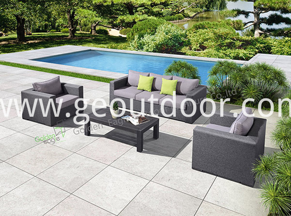 modern garden modular seating set