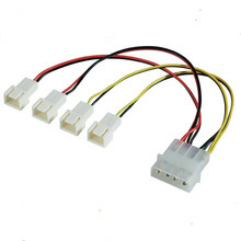 Fan Electric Cable with Molex 4pin Connector