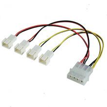 Вентилятор Электрический кабель с 4-контактный разъем Molex