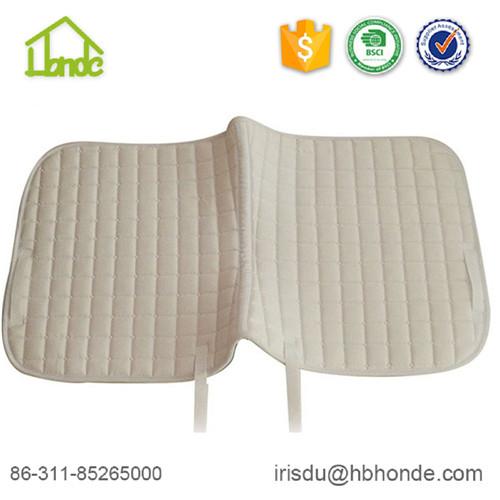 saddle pad with waffle lining