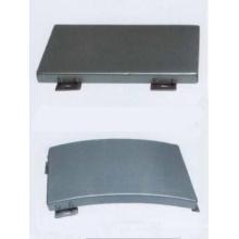 Panneaux de plafond en aluminium non perforés suspendus