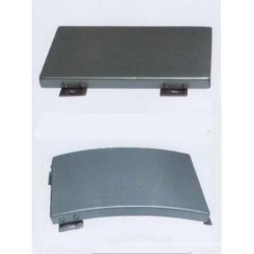 Paneles de techo suspendidos de aluminio no perforado