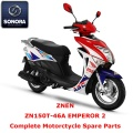 ZNen ZN150T-46A EMPEROR 2 ricambio scooter completo