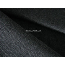 100% Cotton Checked Malange Fabric For Men's Suits, Trousers And Overcoat