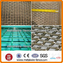Malla de alambre rizado de acero inoxidable