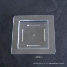 Plastic Disk Disposable Saucer Mini Quare Dish