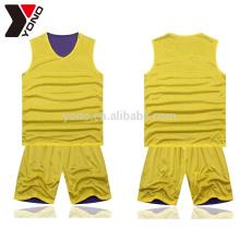 Good quality basketball jersey sets custom sportswear uniform sublimation printing basketball wear