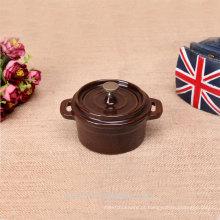 Pote de pequeno tamanho multifuncional de esmalte de produtos à venda
