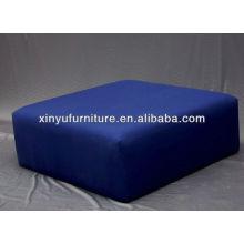 Puf tapizado otomana en azul XY0303