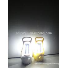 green source Rechargeable led lantern camping hanging solar lantern