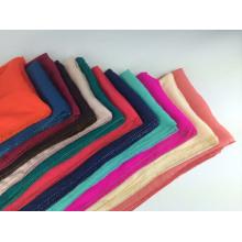 100% Silk beading muslim hijab muslim scarf