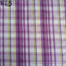Tela teñida hilado del popelín de algodón 100% para las camisas / el vestido Rlsc50-23