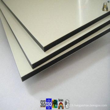 Panneau composite en aluminium PVDF PE Revêtement pour décoration extérieure