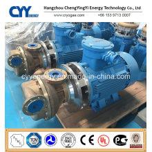 Transfert de liquide cryogénique horizontal à faible prix Oxygène Nitrogen Argon Pompe centrifuge à l'huile de refroidissement