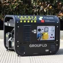 BISON CHINA Swiss Kraft 6.5kw Kraftstoff sparen 380V Dreiphasen-Benzin-Generator Schweizer Kraftgeneratoren sk6500w
