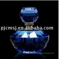 #NPB-04,blue glass perfume bottle,