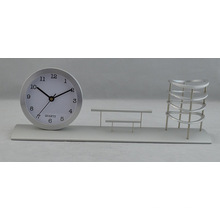 Reloj de regalo de aluminio para banco (DZ35)