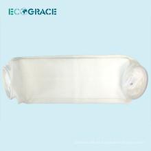 Excelente rendimiento de abrasión 100 micrones de líquido PE filtro de bolsillo