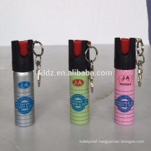 20ml mini pepper spray colorful with keychain
