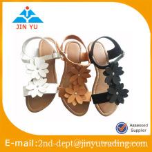 Chaussures en sandales femme 2015 avec deux fleurs
