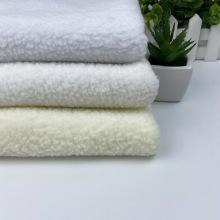 Tissu polaire Sherpa en polyester Polaire berbère camouflage doux