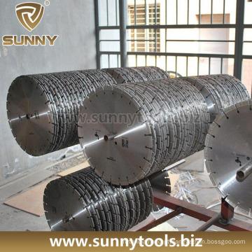 Lâminas de diamante húmidas para corte de concreto